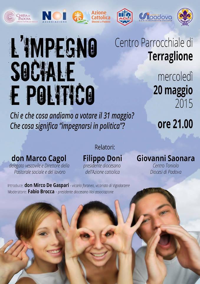 L'impegno sociale e politico AC
